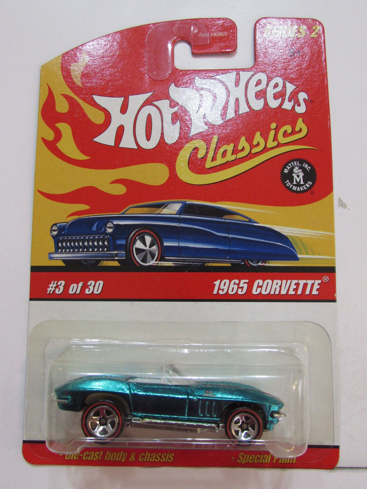 HOT WHEELS CLASSICS SERIES 2 #03/30 - 1965 CORVETTE