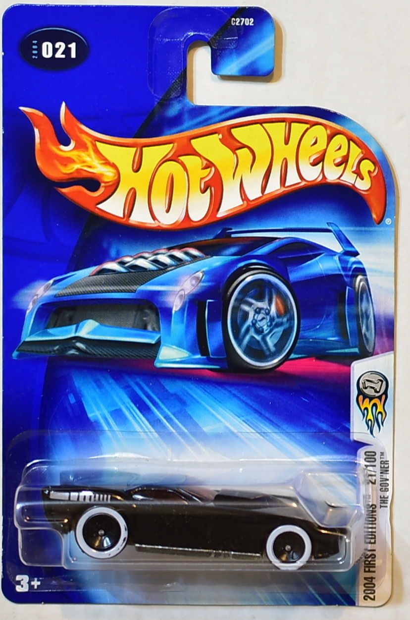 HOT WHEELS 2004 FIRST EDITIONS THE GOV'NER #021 BLACK