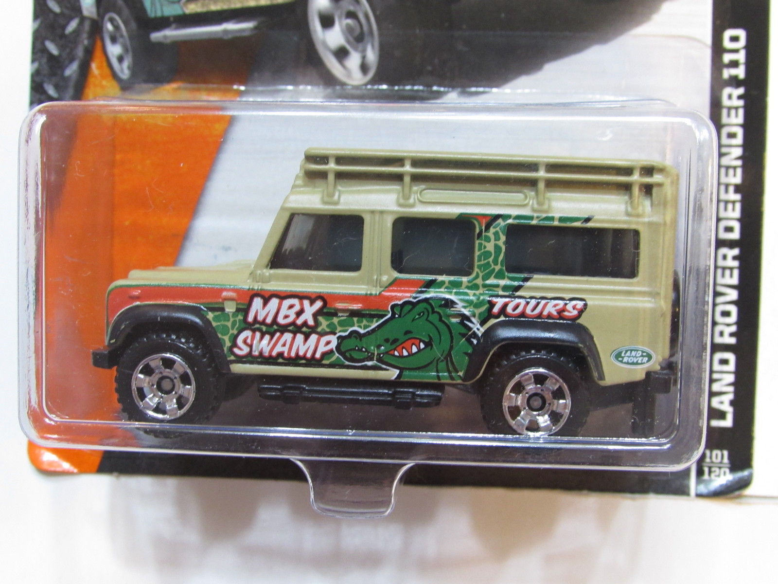 MATCHBOX 2014 MBX EXPLORER - LAND ROVER DEFENDER 110