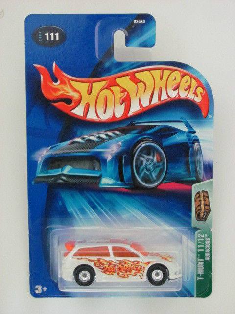 HOT WHEELS TREASURE HUNT 2004 #11/12 AUDACIOUS WHITE