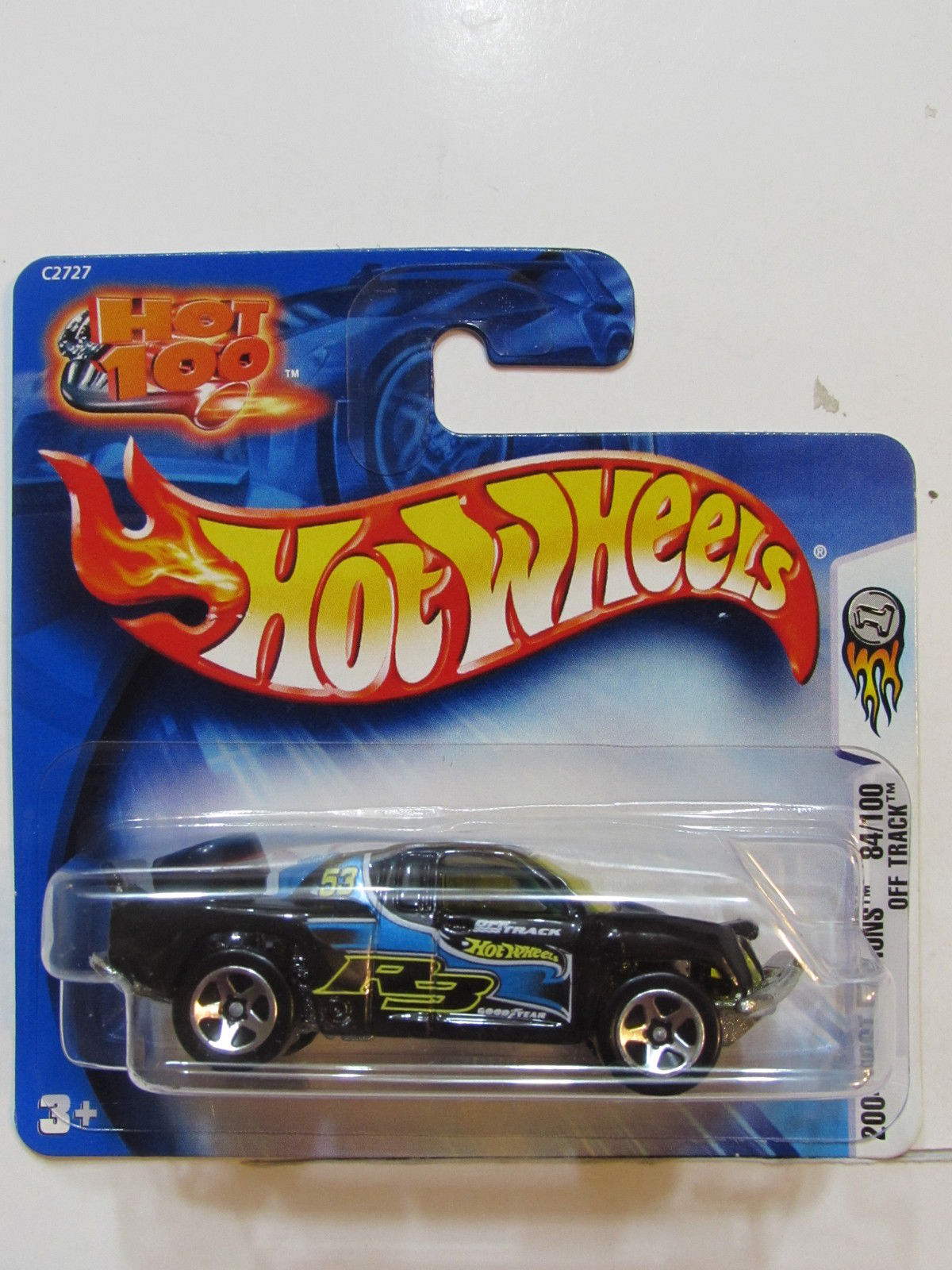 HOT WHEELS 2004 FIRST EDITIONS OFF TRACK SHORT CARD