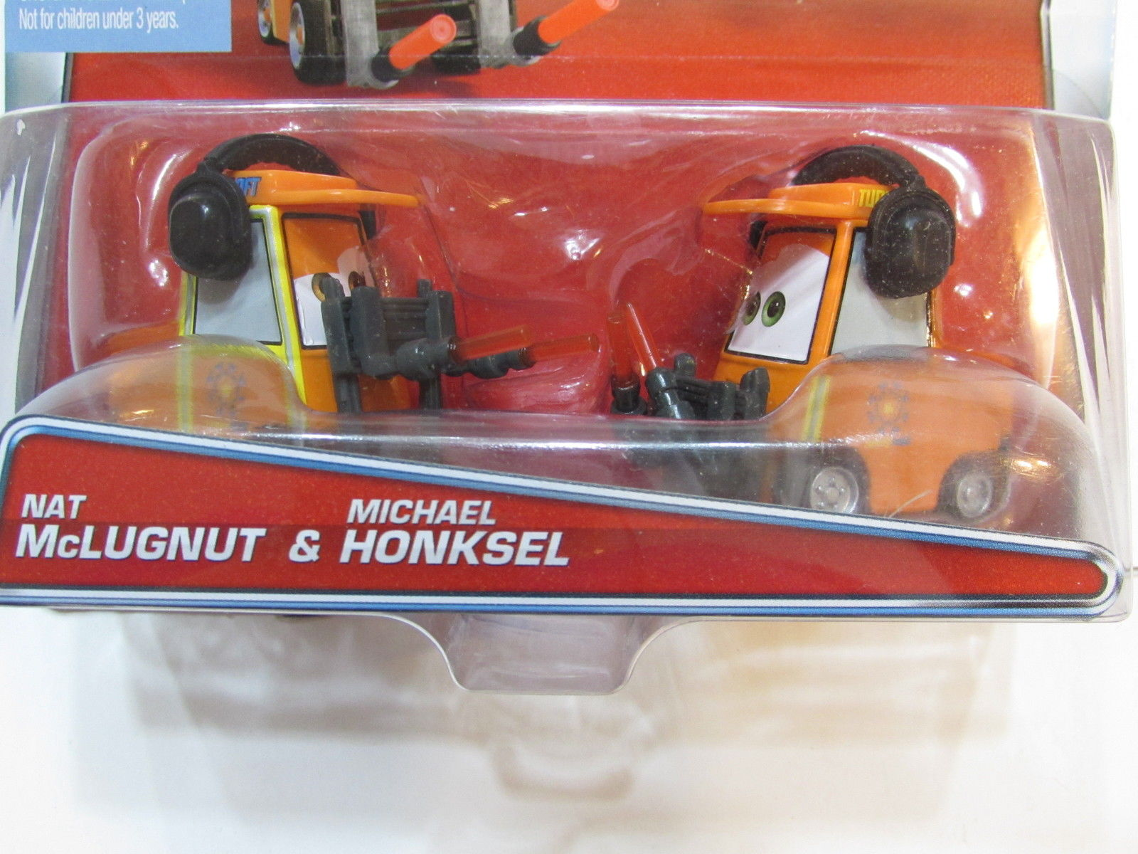 DISNEY PIXAR CARS AIRPORT ADVENTURE NAT McLUGNUT & MICHAEL HONKSEL