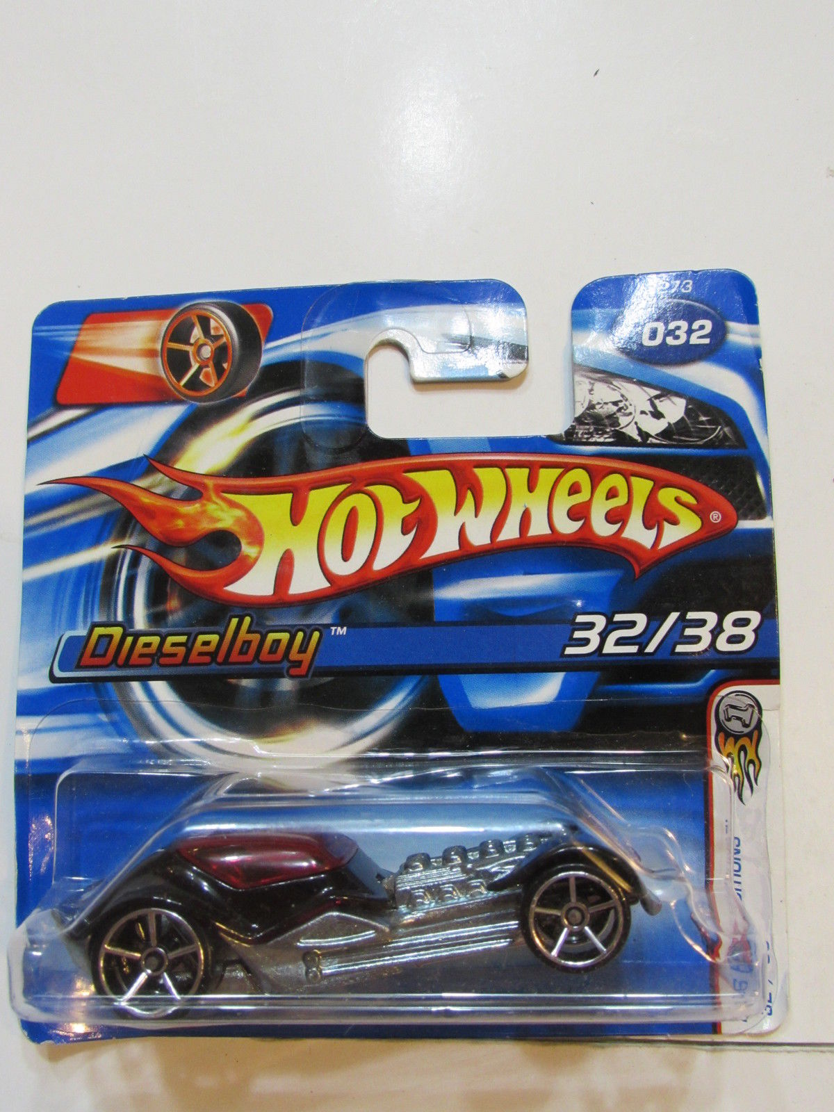 HOT WHEELS 2006 FIRST EDITIONS DIESELBOY #032 SHORT CARD
