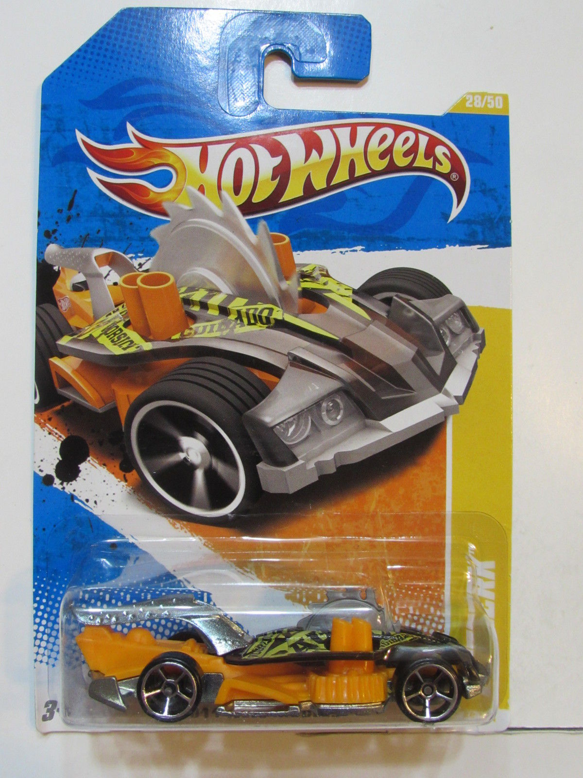 HOT WHEELS 2011 NEW MODELS BUZZERK