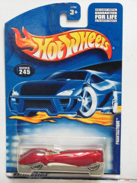 HOT WHEELS 2000 PHANTASTIQUE #245 RED