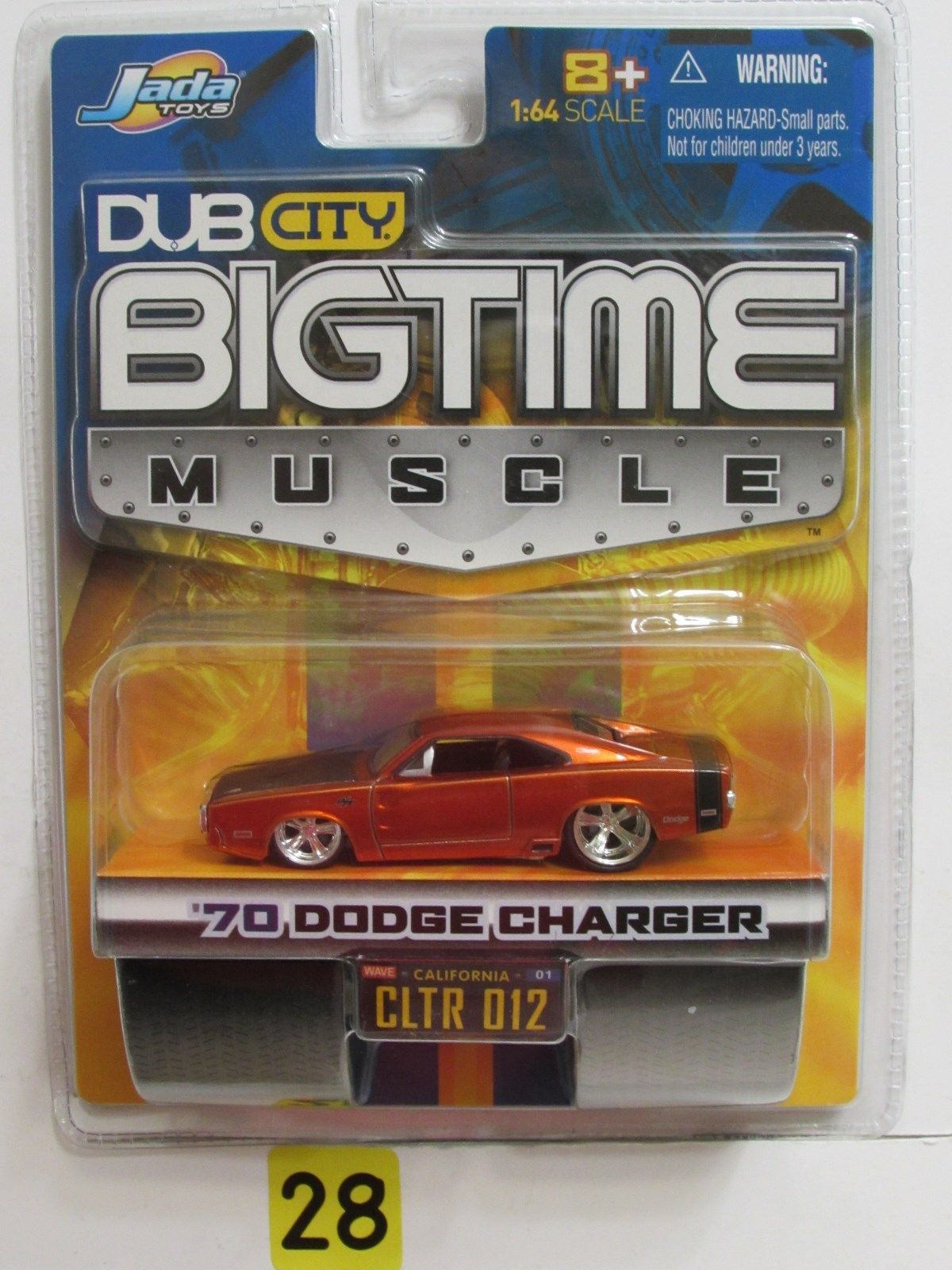JADA DUB CITY BIGTIME MUSCLE '70 DODGE CHARGER 012