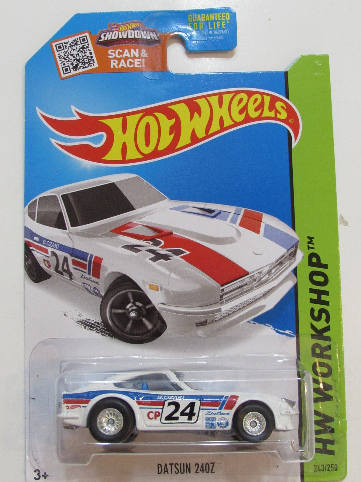 HOT WHEELS 2015 HW WORKSHOP DATSUN 240Z CUSTOM MADE