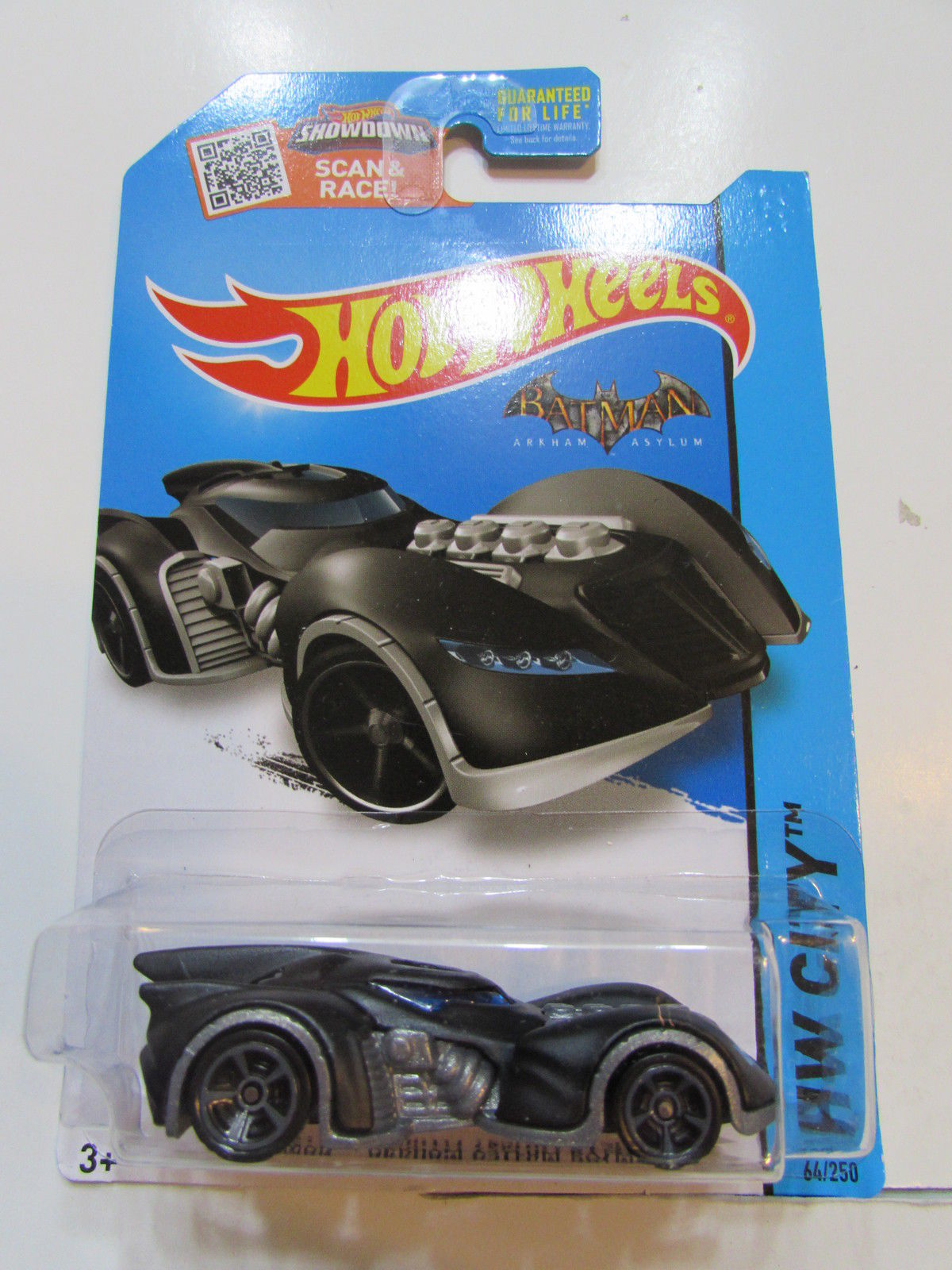 HOT WHEELS 2015 HW CITY - BATMAN: ARKHAM ASYLUM BATMOBILE