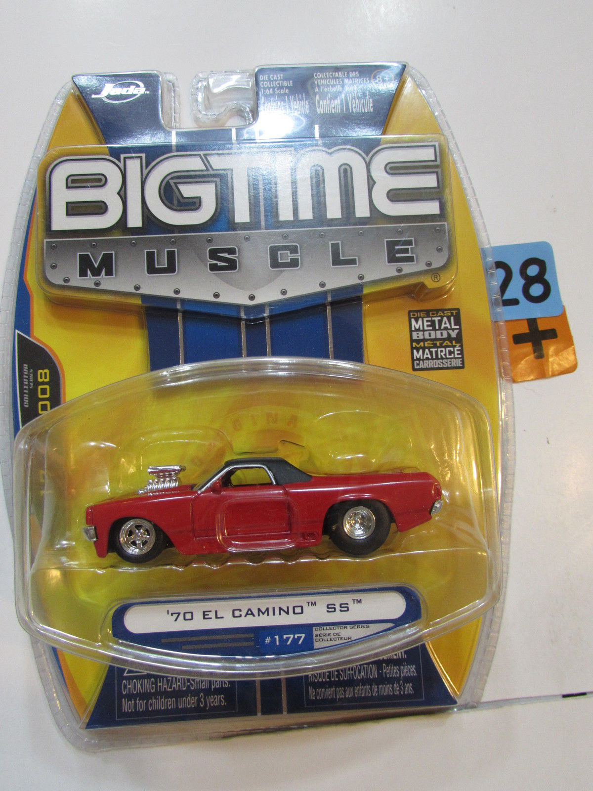 JADA BIG TIME MUSCLE '70 CHEVY EL CAMINO SS #177 RED