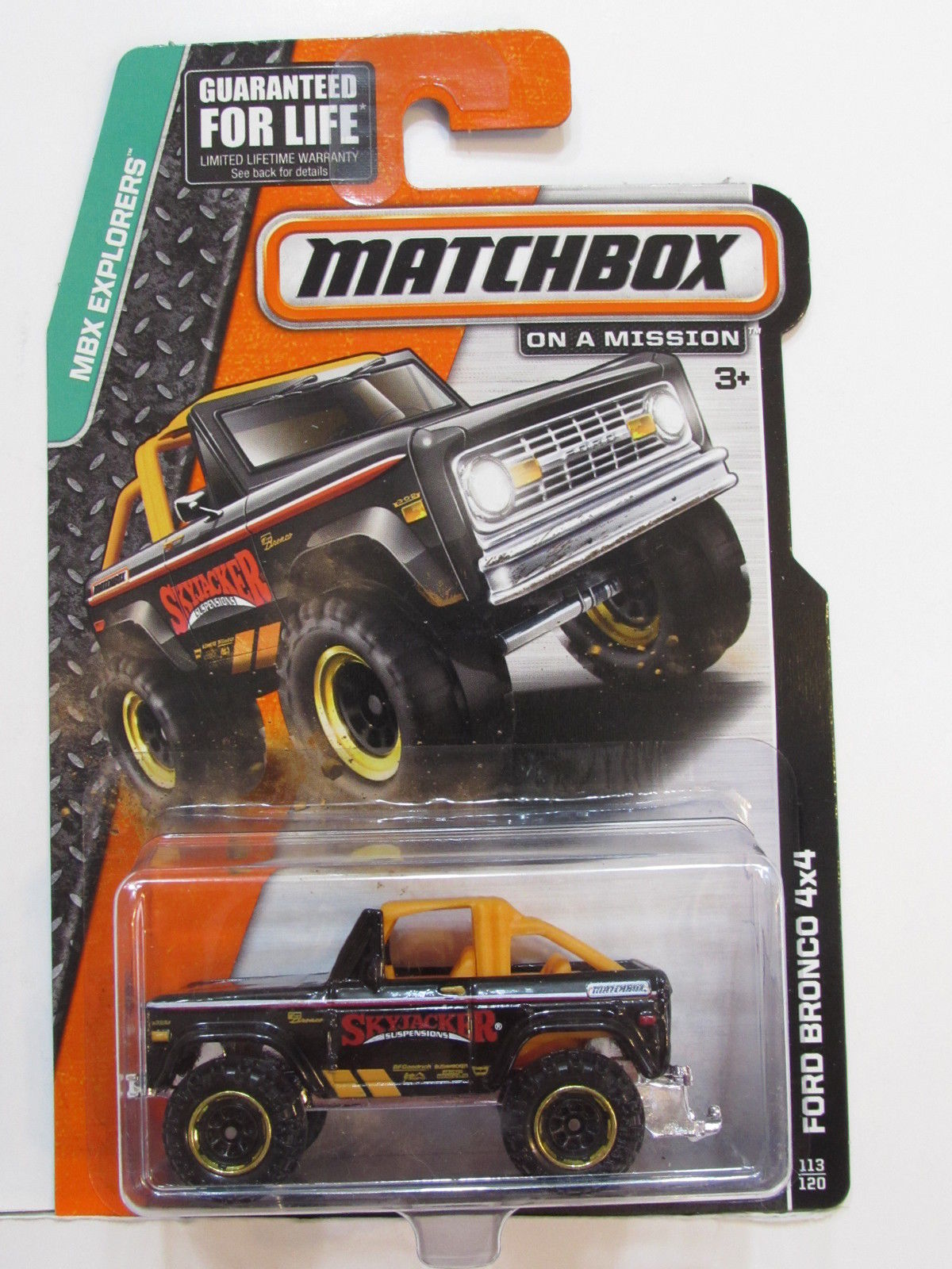 MATCHBOX 2013 ON A MISSION FORD BRONCO 4X4