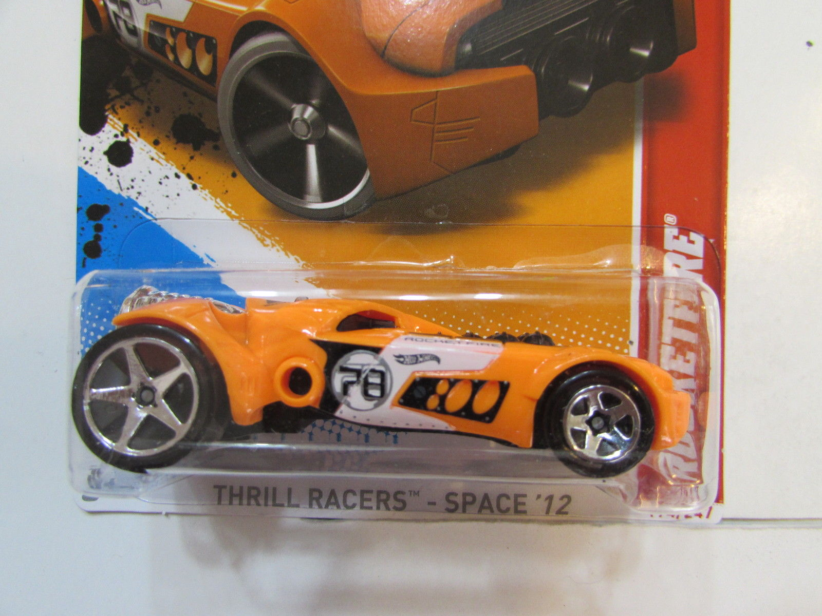 HOT WHEELS 2012 THRILL RACERS SPACE ROCKETFIRE FACTORY SEALED