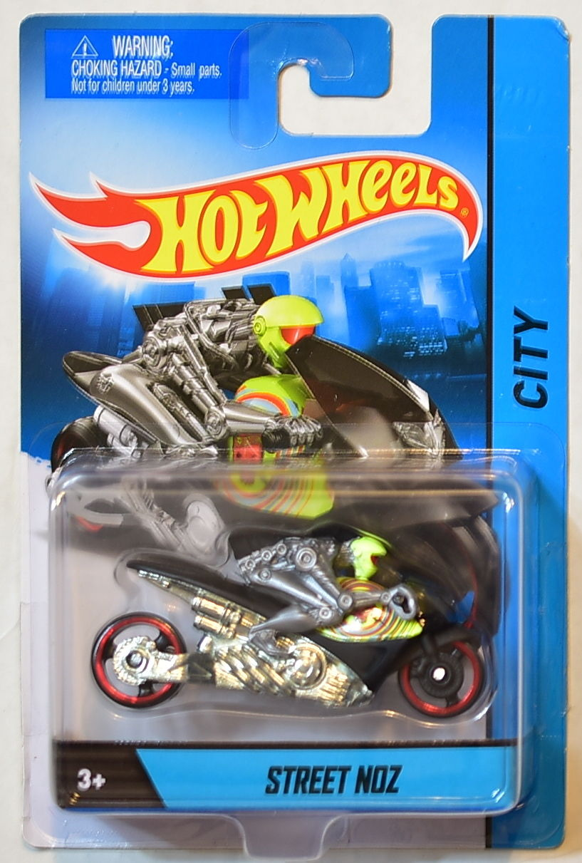 HOT WHEELS CITY 2014 1:64 SCALE STREET NOZ BLACK