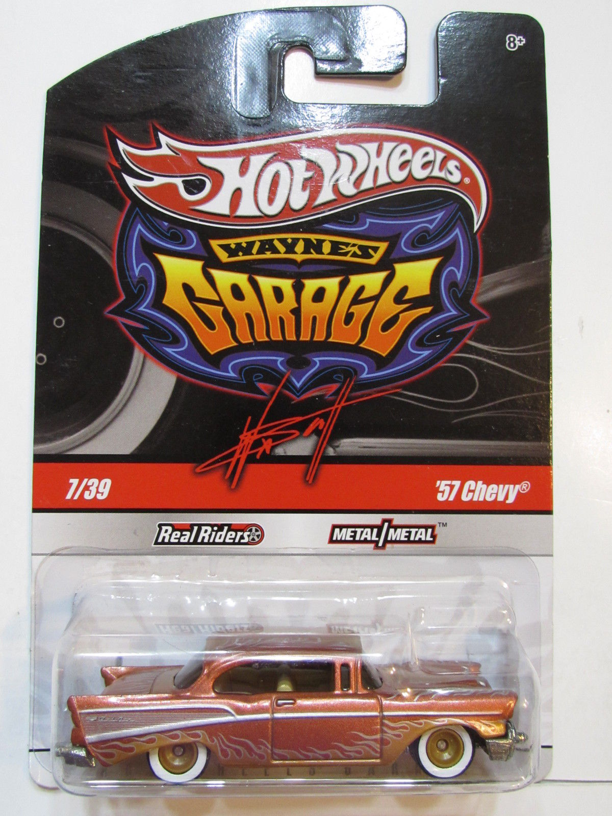 HOT WHEELS WAYNE'S GARAGE #7/39 '57 CHEVY