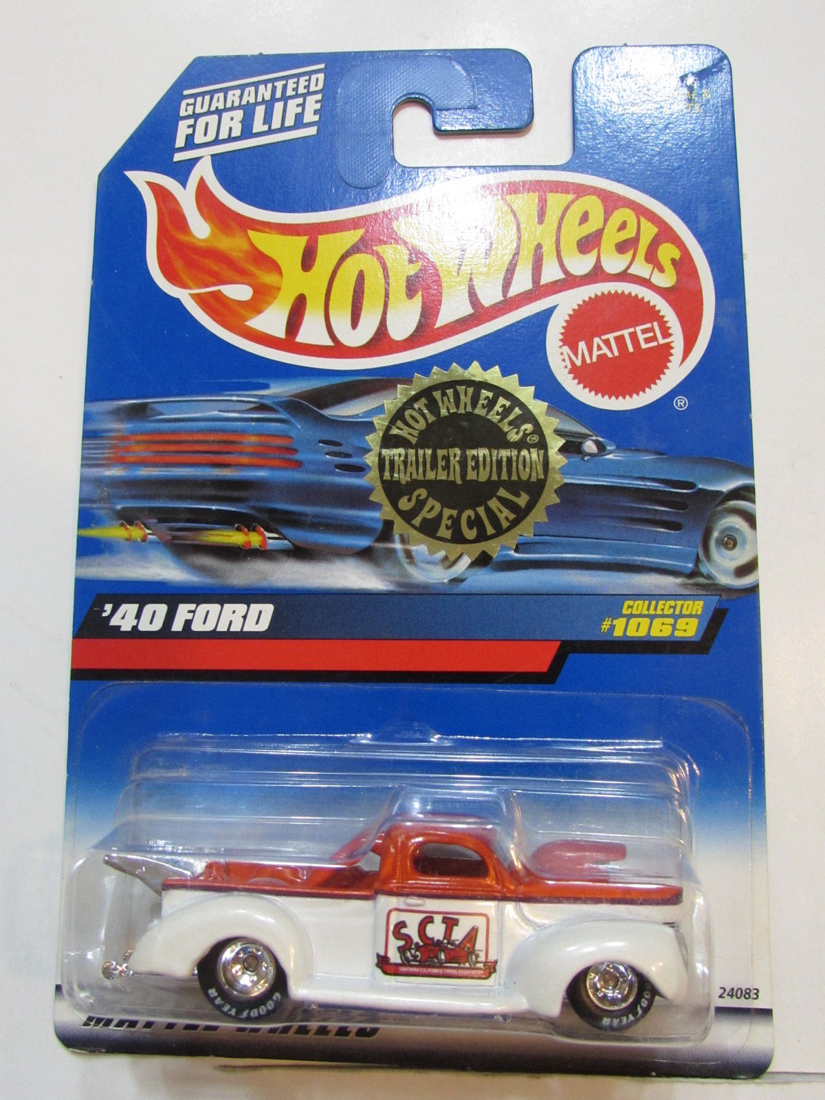 HOT WHEELS 1999 TRAILER EDITION SPECIAL '40 FORD COLLECT. #1069