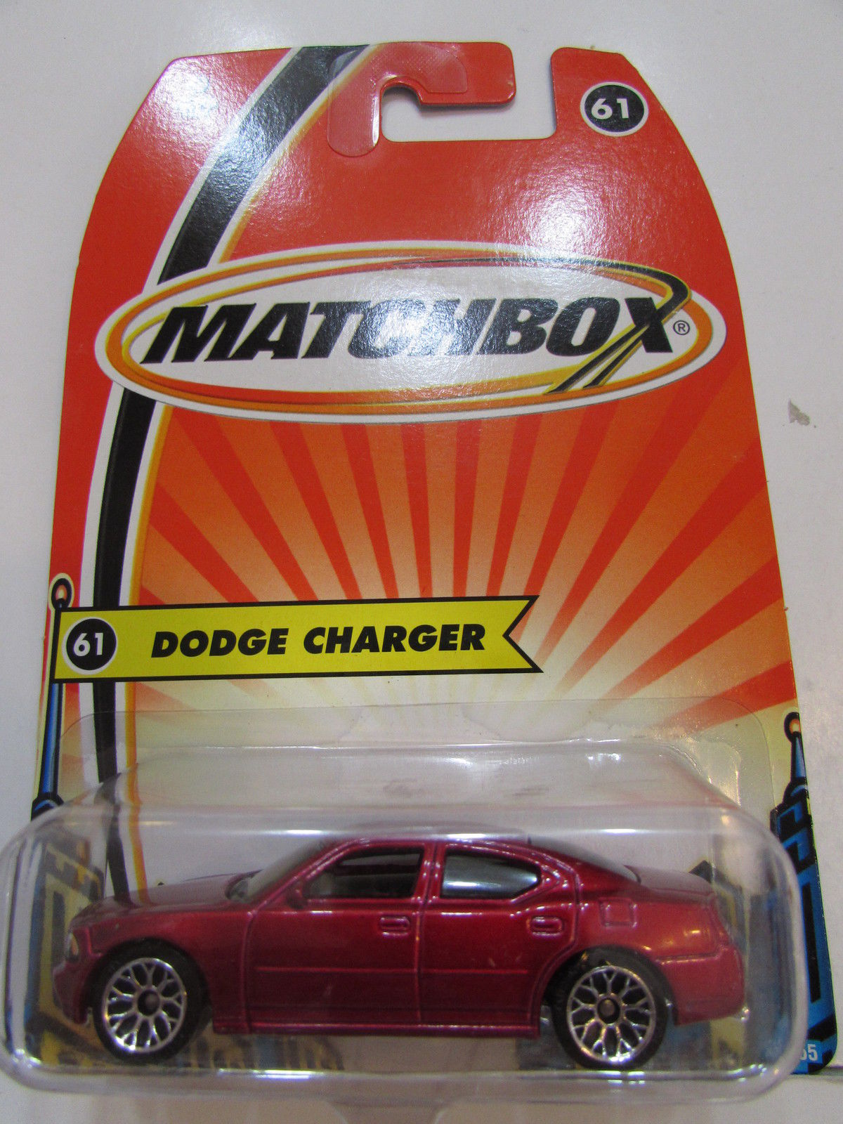 MATCHBOX 2005 DODGE CHARGER #61 RED