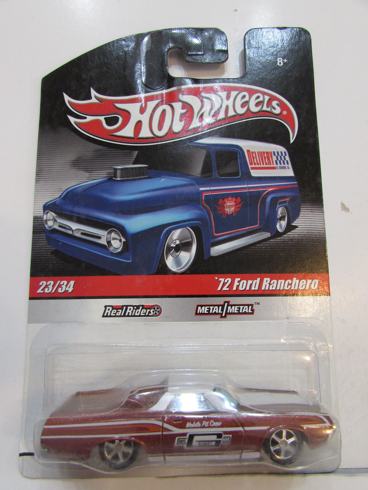 HOT WHEELS DELIVERY #23/34 - '72 FORD RANCHERO