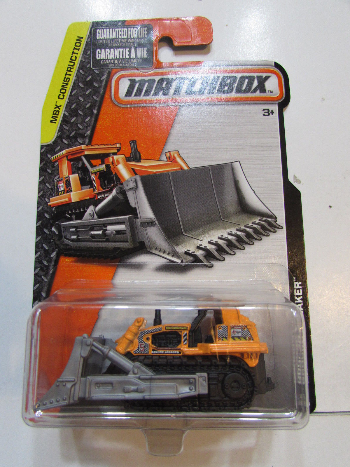 MATCHBOX 2014 MBX CONSTRUCTION - GROUND BREAKER