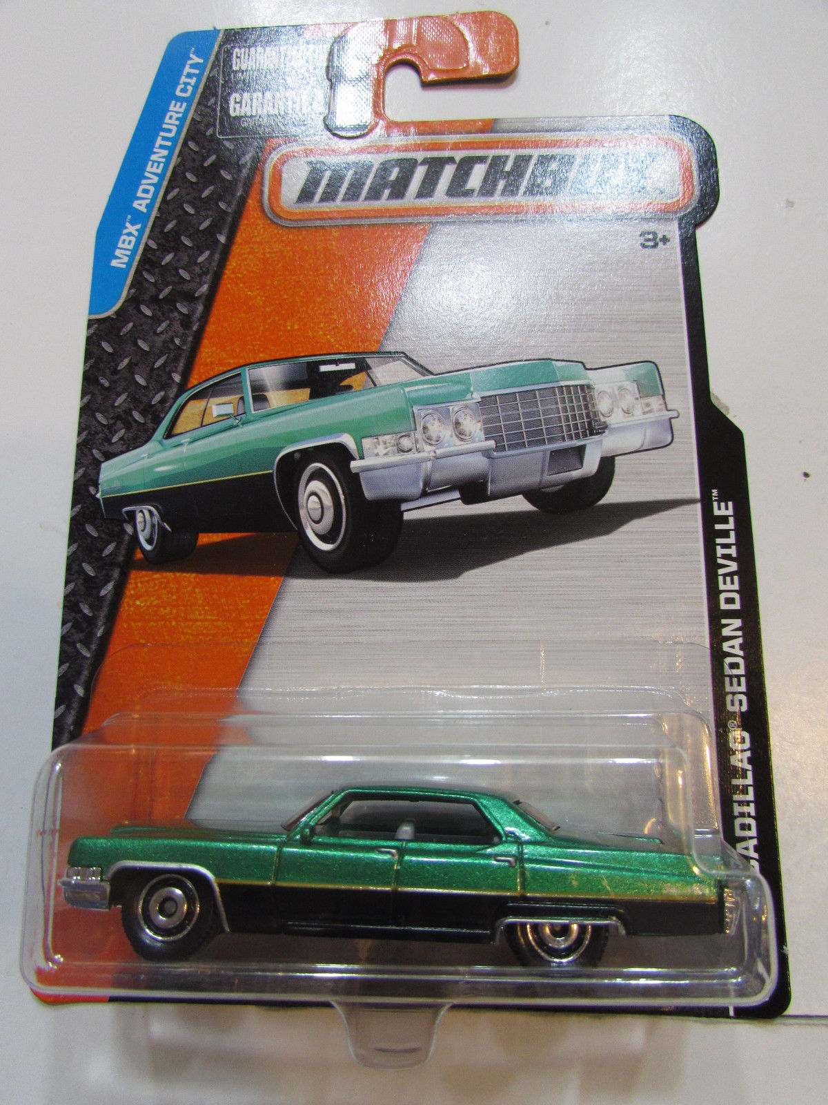 MATCHBOX 2015 MBX ADVENTURE CITY '69 CADILLAC SEDAN DEVILLE