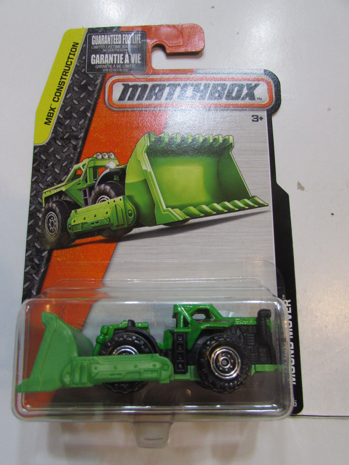 MATCHBOX 2015 MBX CONSTRUCTION MOUND MOVER GREEN