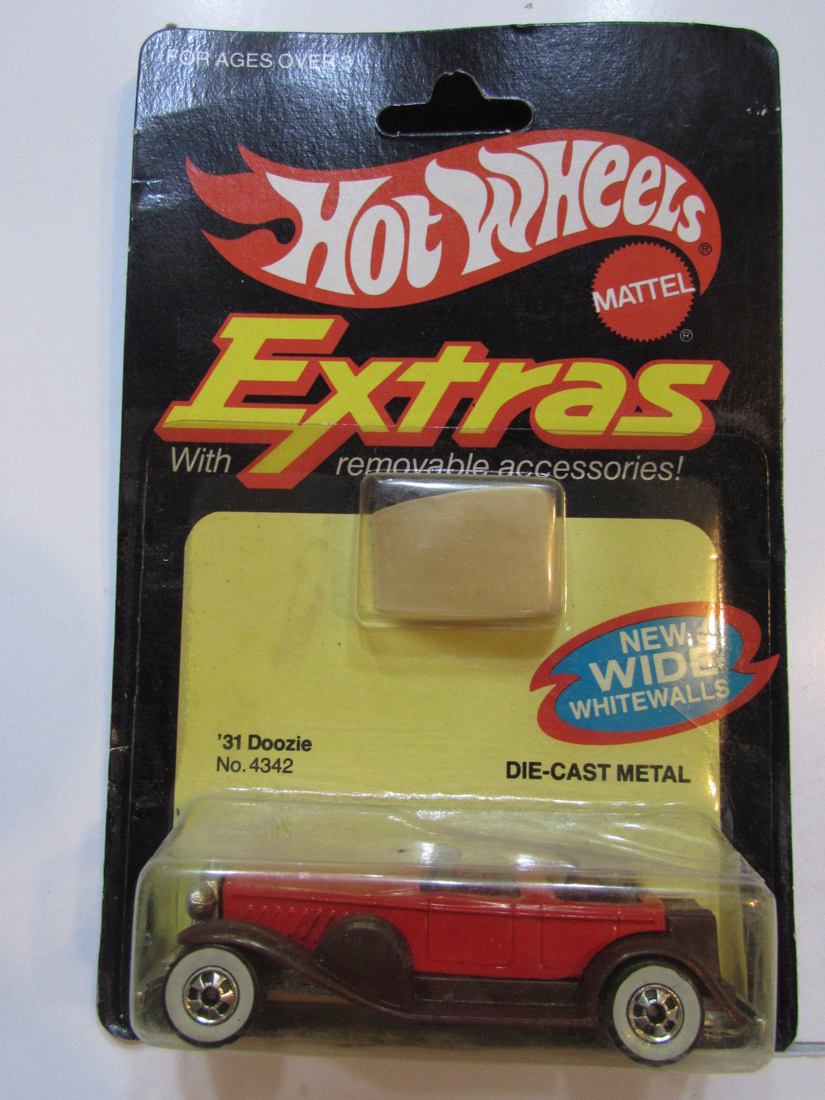 HOT WHEELS 1982 EXTRAS W/ REMOVABLE ACCESSORIES '31 DOOZIE NO. 4342