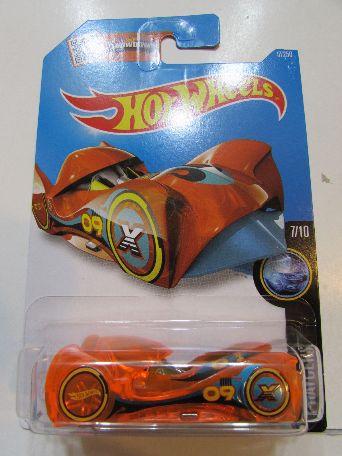 HOT WHEELS 2016 HW X-RAYCERS #7/10 CLOAK AND DAGGER