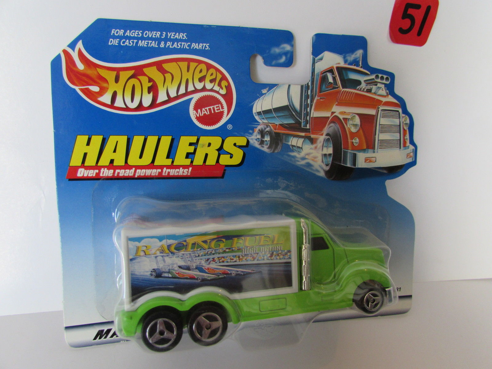 HOT WHEELS 1998 HAULERS OVER THE ROAD POWER TRUCKS - RACING FUEL