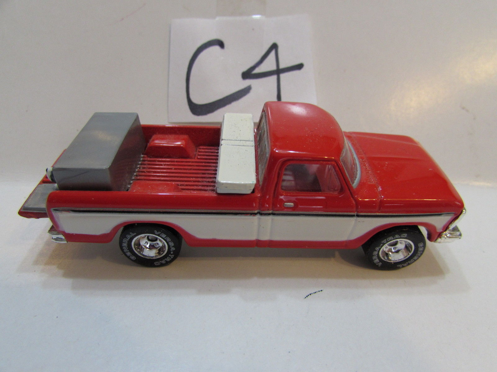 HOT WHEELS 1979 FORD F - 150 RED LOOSE
