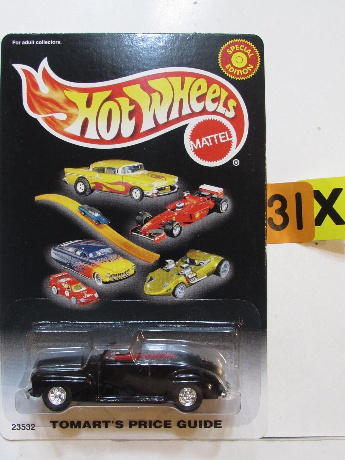 HOT WHEELS 2000 TOMART'S PRICE GUIDE - '46 FORD BLACK