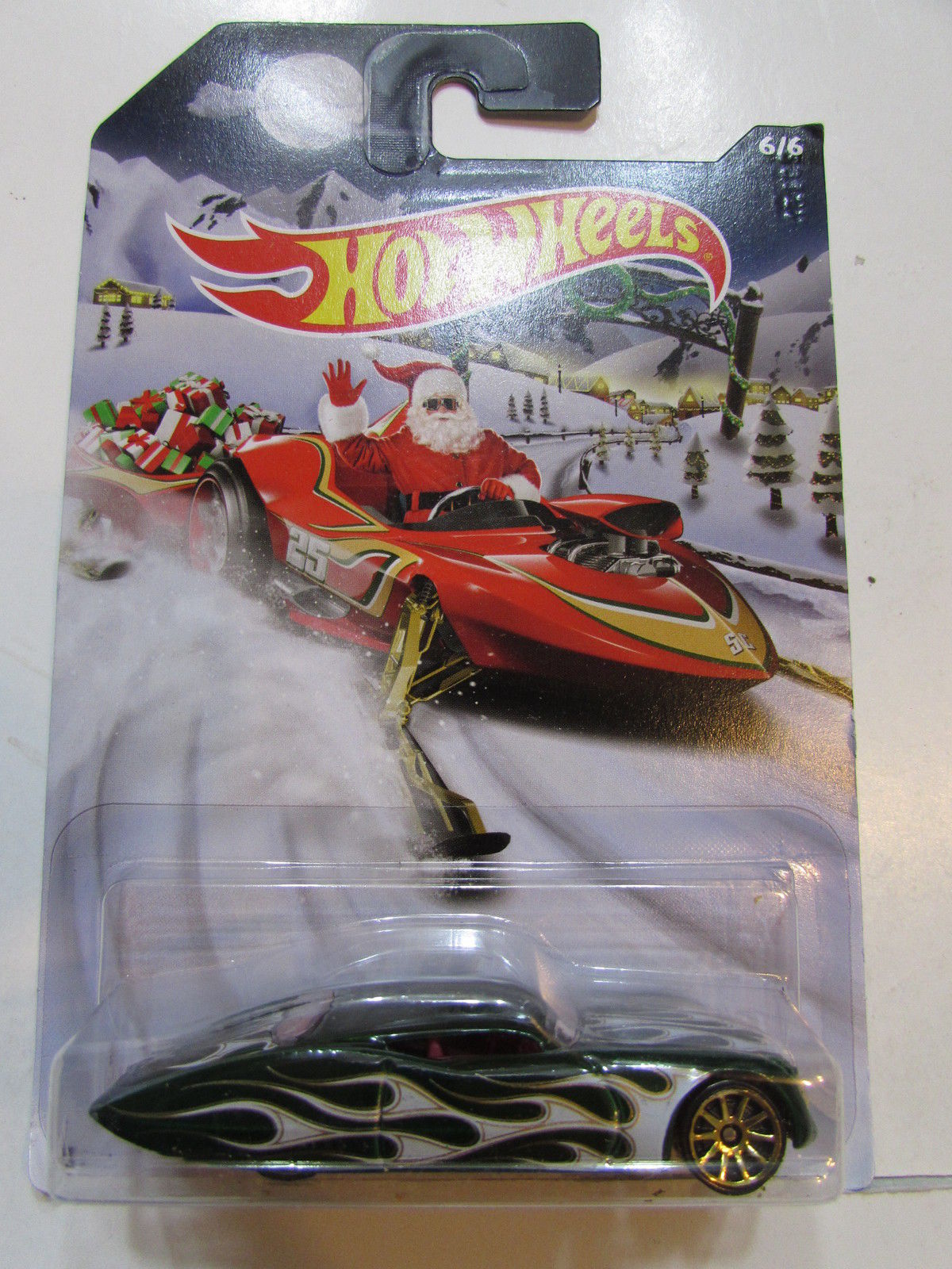HOT WHEELS 2015 HOLIDAY RODS - FORD GANGSTER GRIN