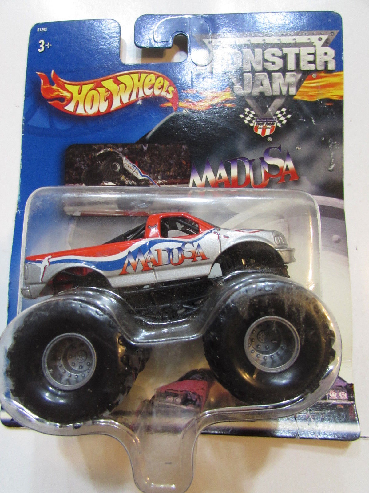HOT WHEEL 2002 MONSTER JAM MADUSA