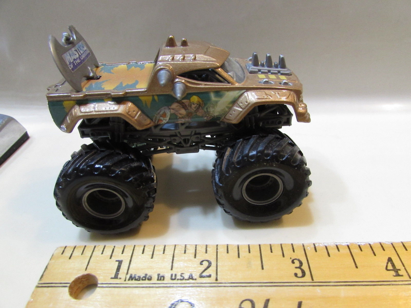 HOT WHEELS MONSTER JAM 2002 MASTERS OF THE UNIVERSE HE - MAN #16 LOOSE
