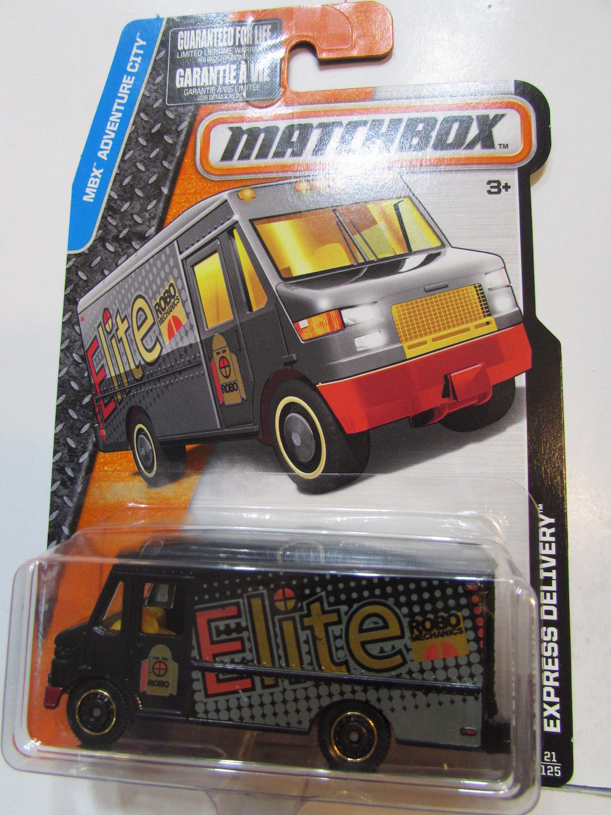 MATCHBOX 2016 MBX ADVENTURE CITY EXPRESS DELIVERY