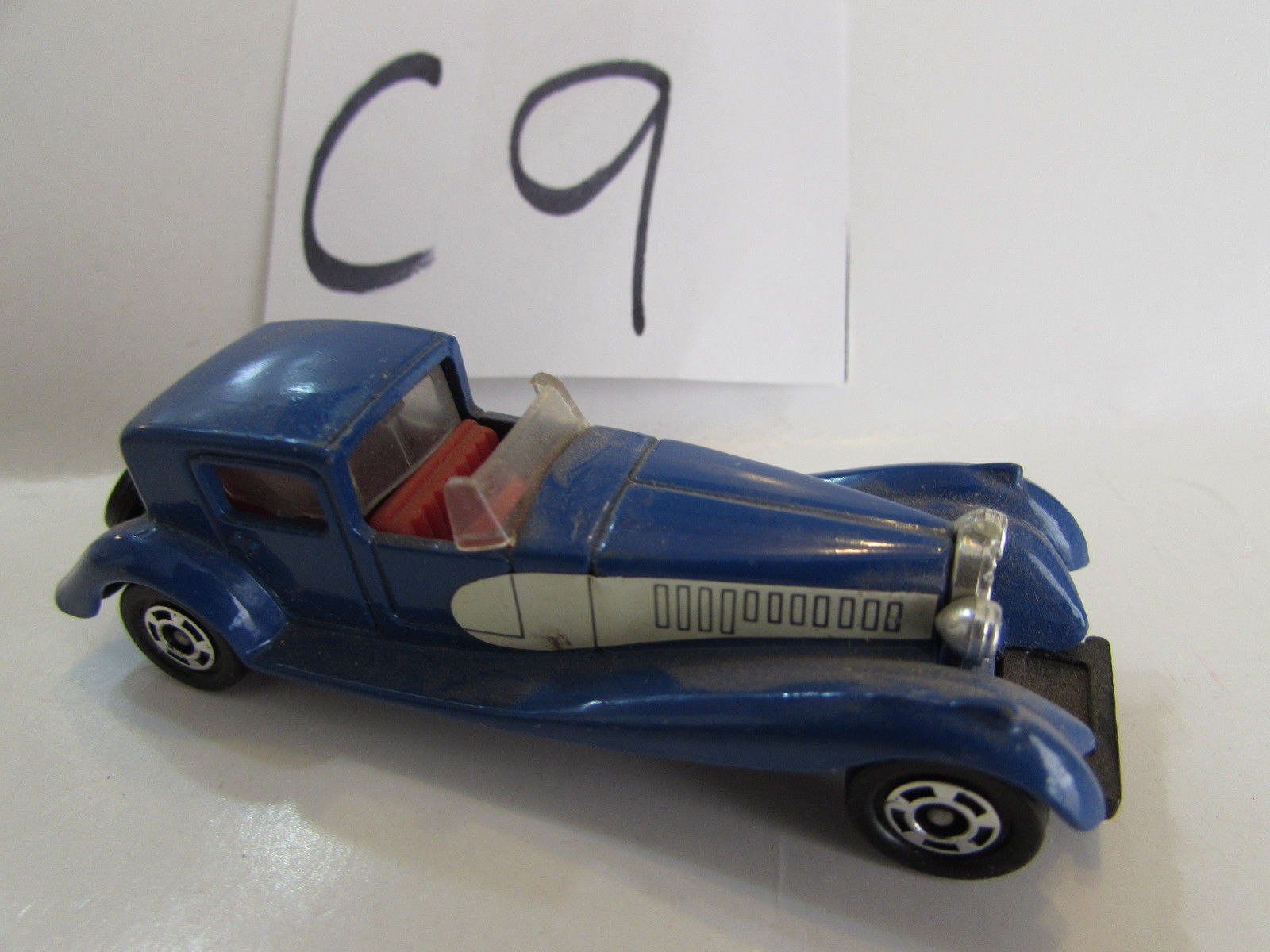 1978 TOMICA BUGATTI COUPE DE VILLE SCALE 1:80 MADE IN JAPAN - LOOSE