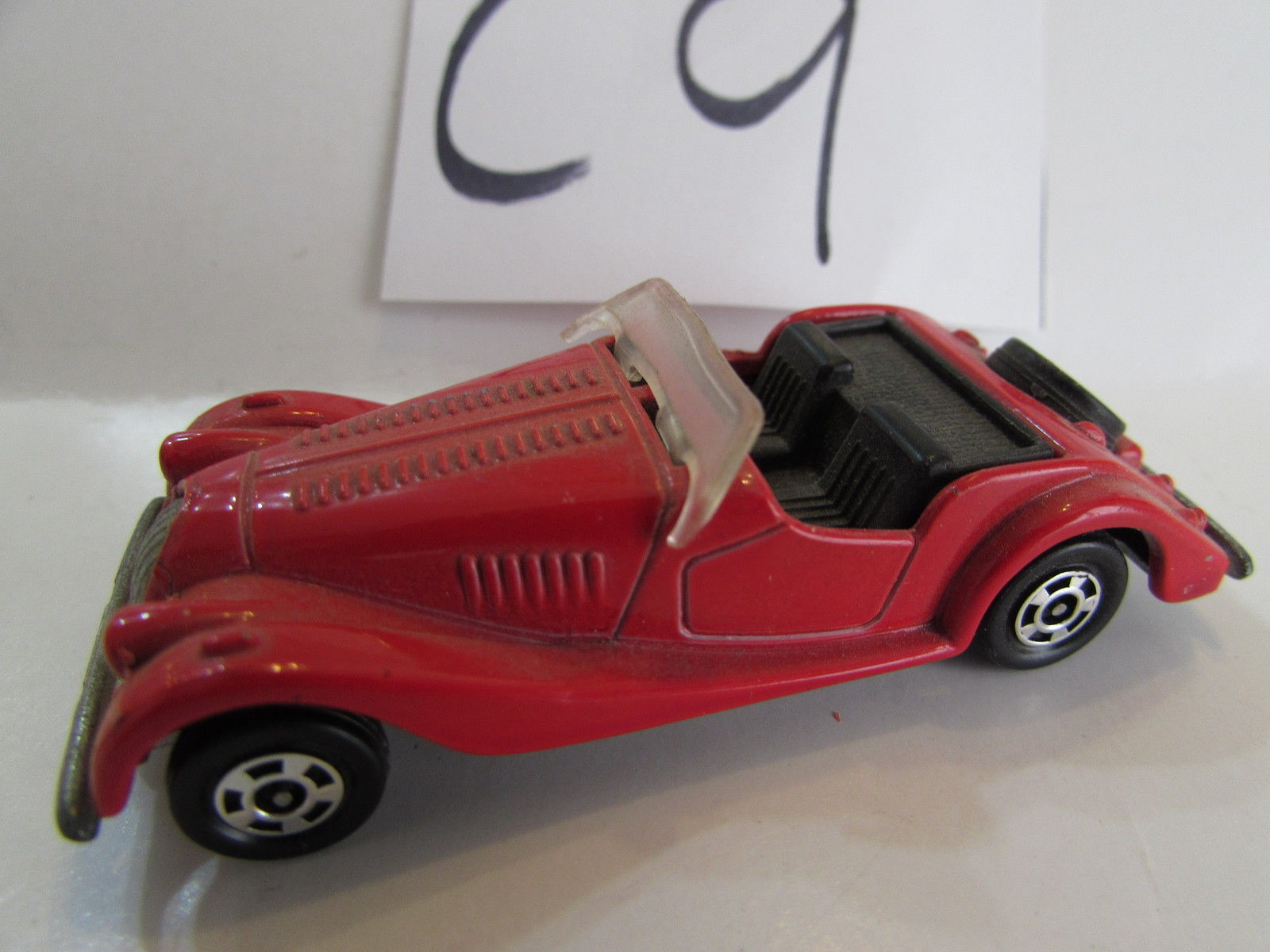 1977 TOMICA MORGAN PLUS 8 SCALE 1:57 MADE IN JAPAN - LOOSE E+