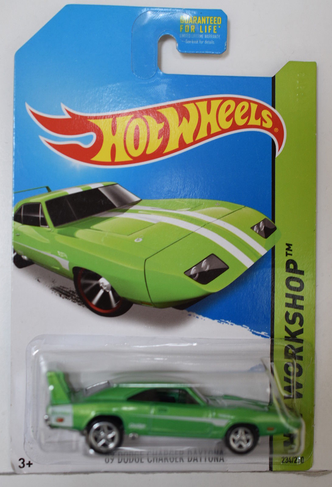 HOT WHEELS 2014 HW WORKSHOP - '69 DODGE CHARGER DAYTONA CUSTOM MADE
