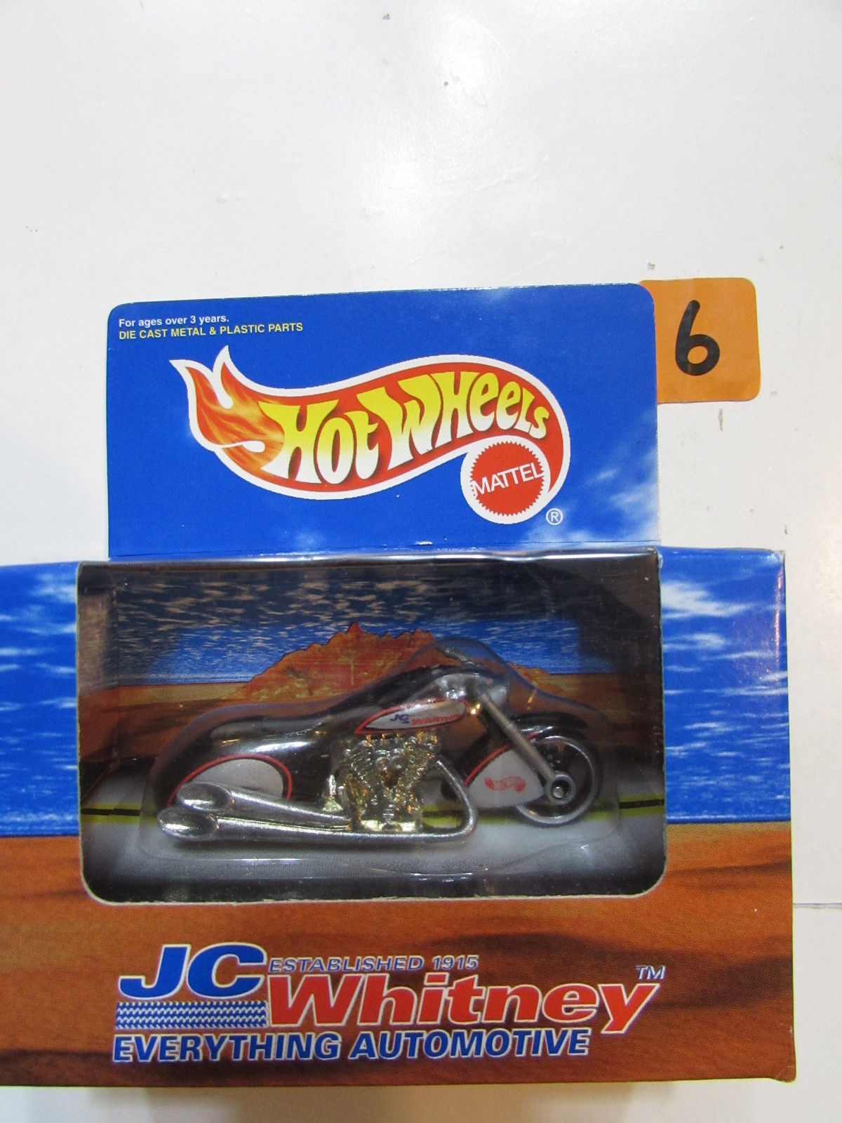 HOT WHEELS 1997 JC WHITNEY SCORCHIN' SCOOTER