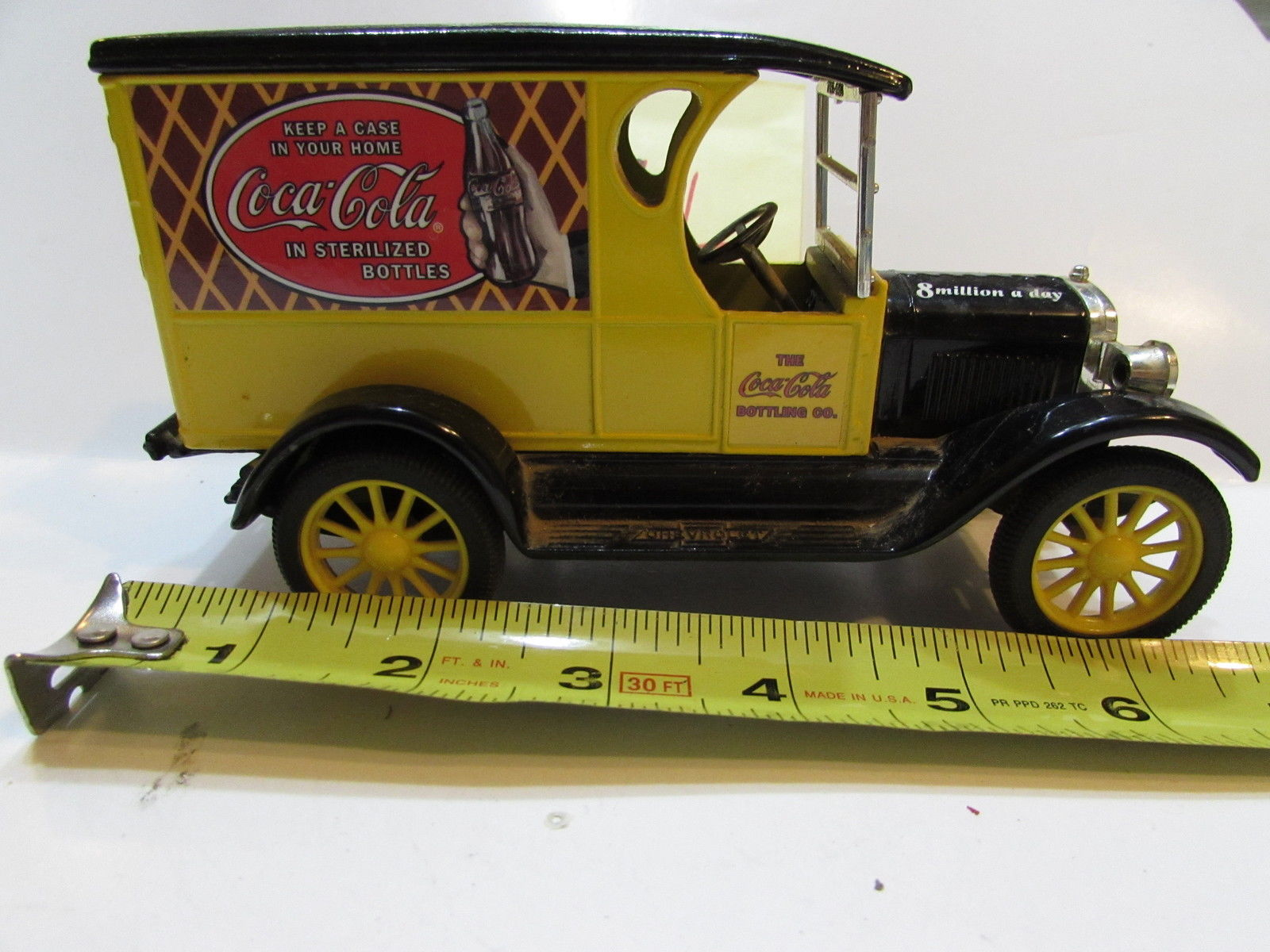 ERTL COCA COLA MADE IN MEXICO - BANK - LOOSE