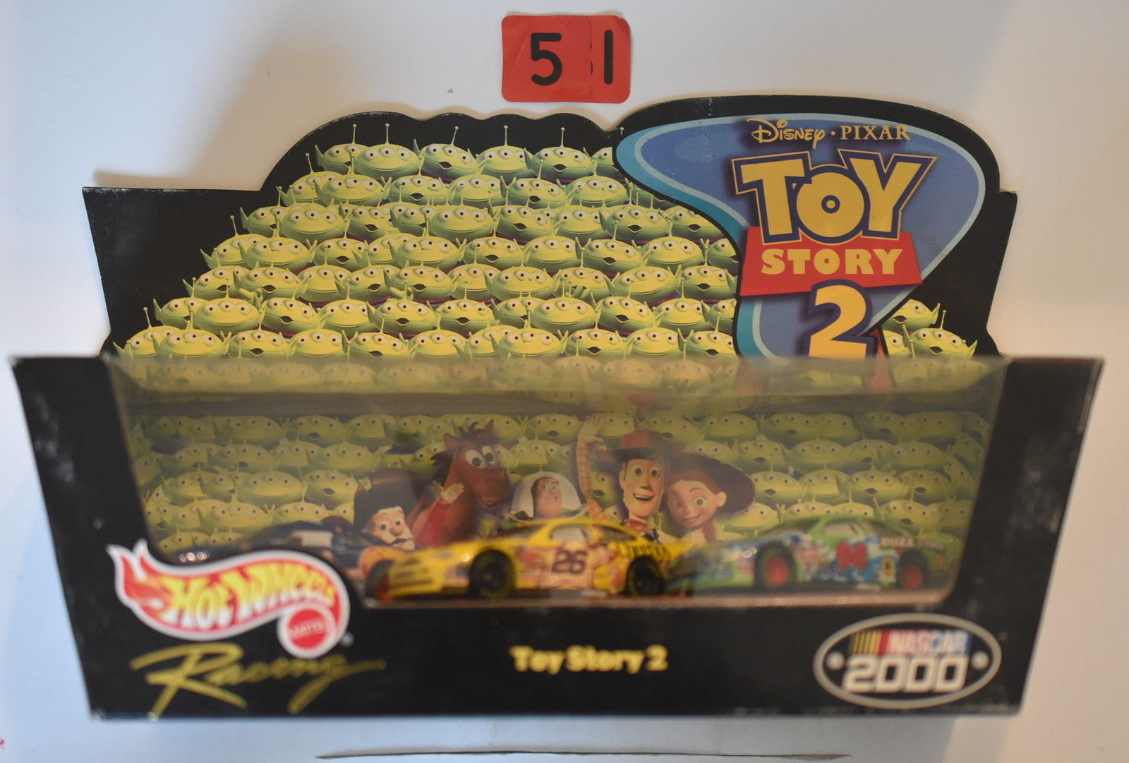 HOT WHEELS RACING DISNEY DISNEY PIXAR TOY STORY 2 - NASCAR 2000 TARGET EXCLUSIVE