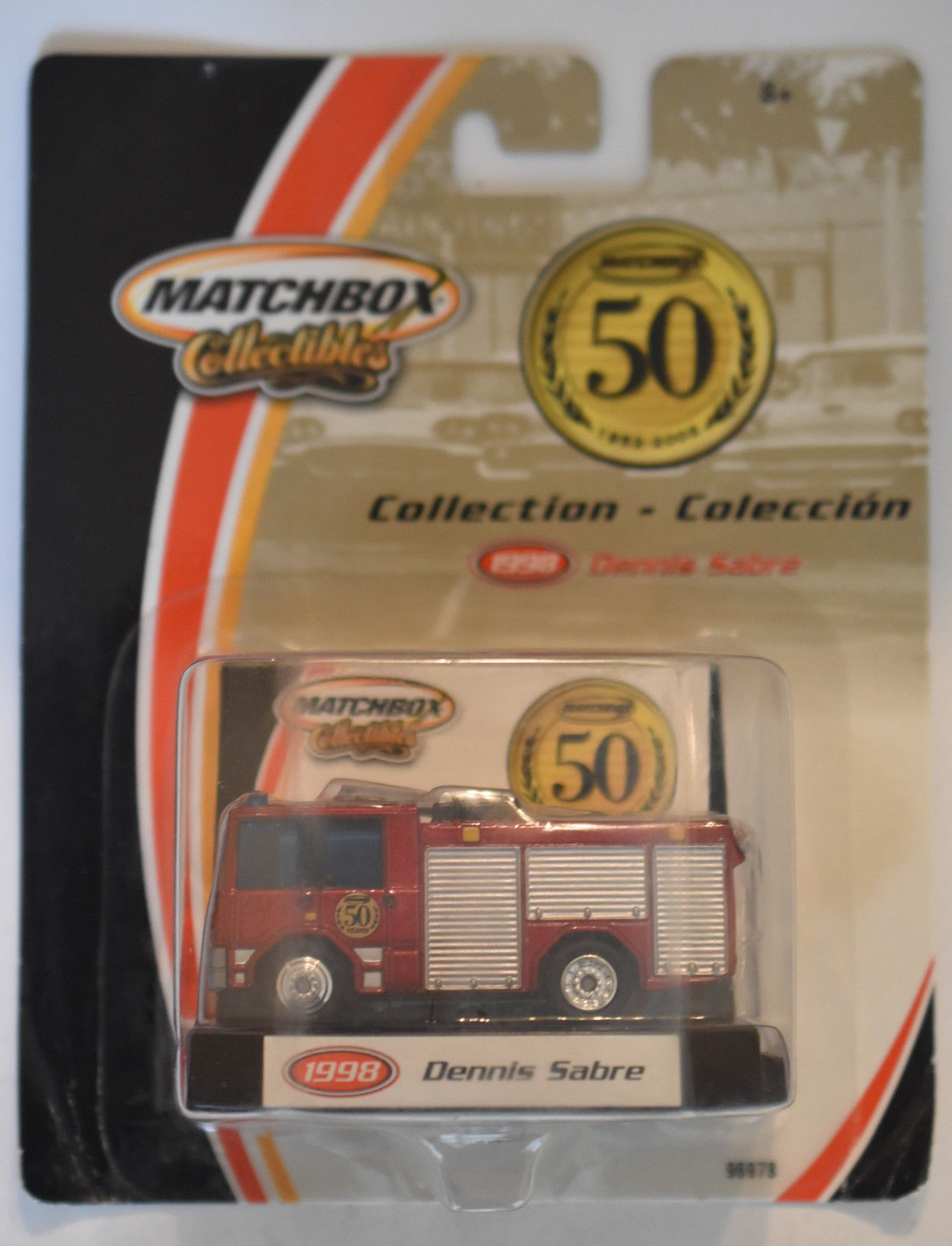 MATCHBOX 50 YEARS COLLECTIBLES 1998 DENNIS SABRE