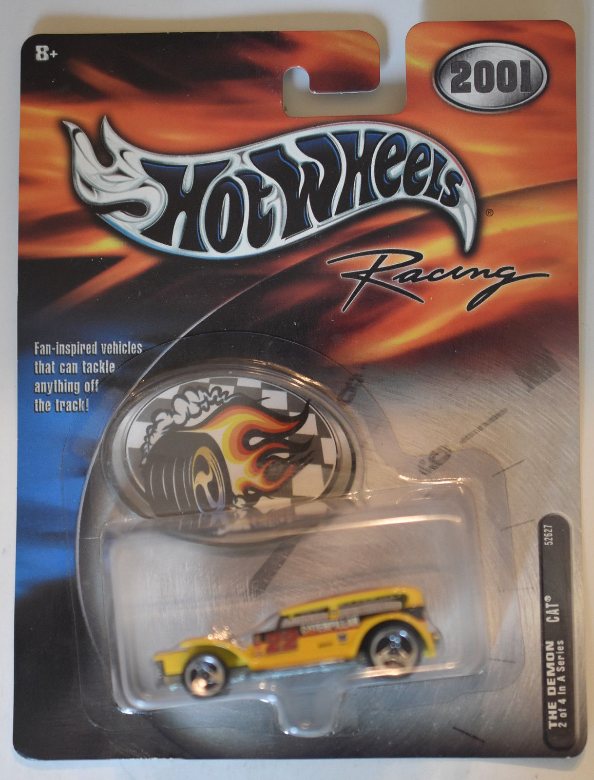 2001 HOT WHEELS RACING THE DEMON - CAT #2/4