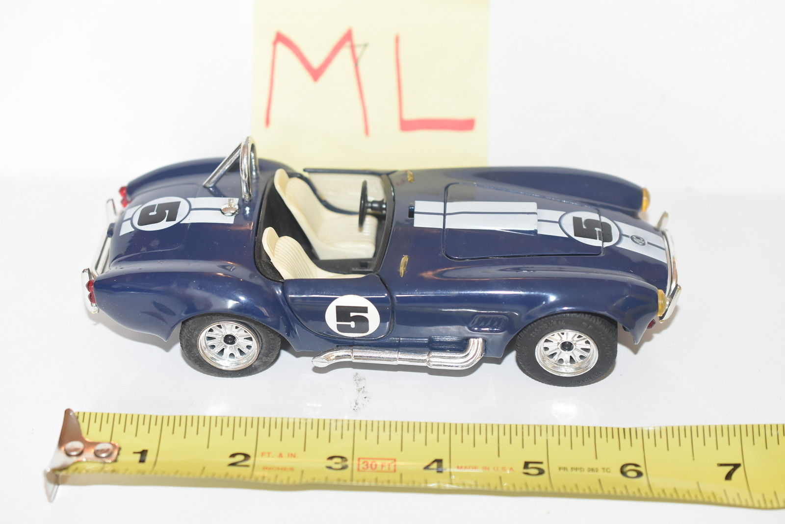 MAJORETTE AC COBRA BLUE SCALE 1/24 - LOOSE