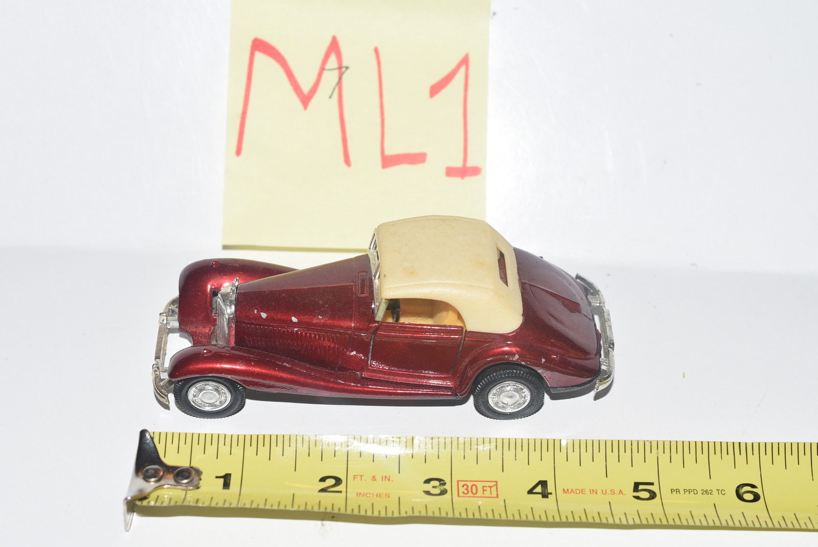 YAT MING MERCEDES BENZ 540 K #8502 - MADE IN THAILAND LOOSE