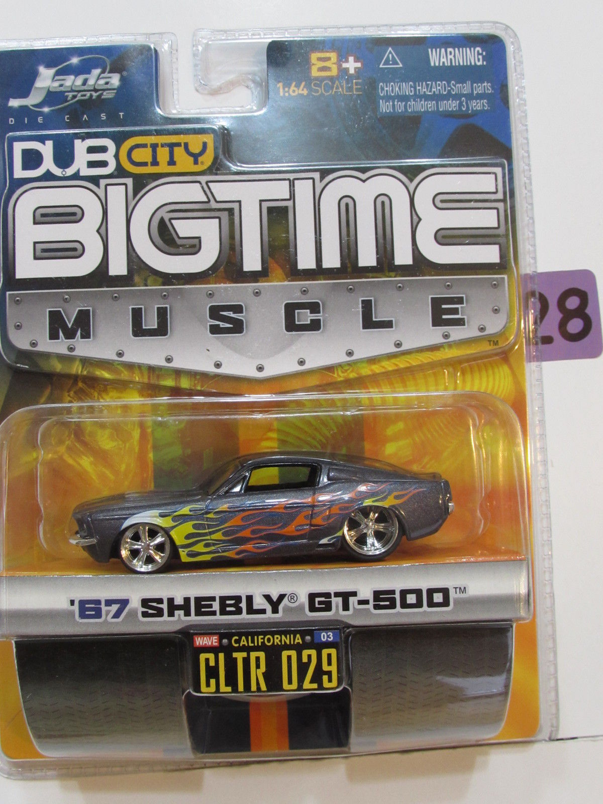 JADA DUB CITY BIGTIME MUSCLE '67 SHELBY GT-500 CLTR 029 E+