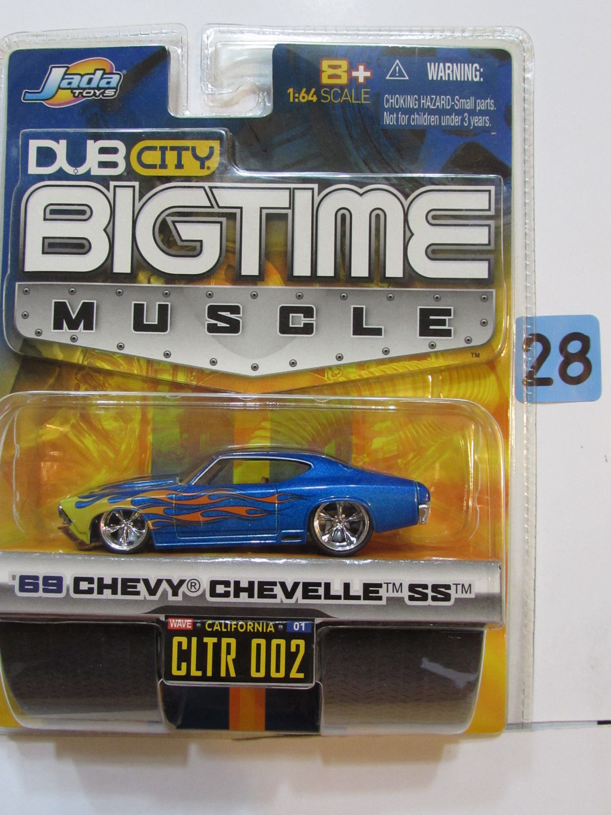 JADA DUB CITY BIGTIME MUSCLE '69 CHEVY CHEVELLE SS CLTR 002