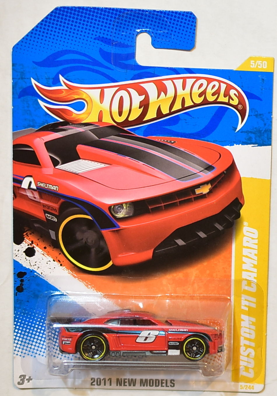 HOT WHEELS 2011 NEW MODELS CUSTOM '11 CUSTOM CAMARO
