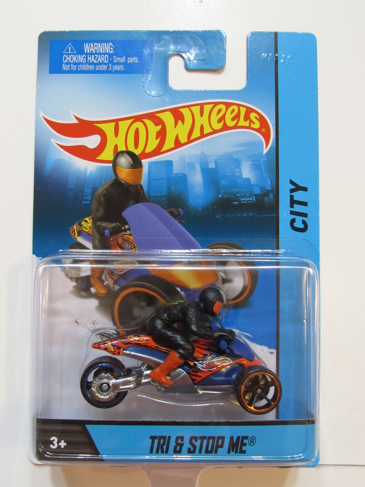 HOT WHEELS 2014 CITY TRI & STOP ME 1:64 SCALE