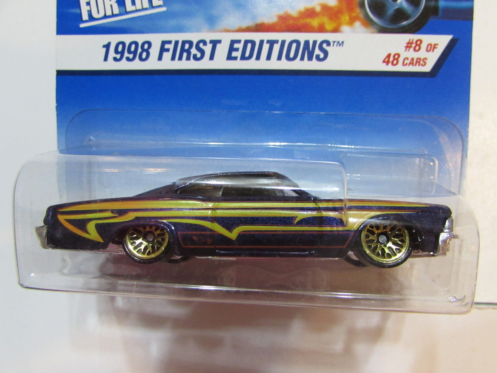 HOT WHEELS 1998 FIRST EDITIONS '65 IMPALA LOWRIDER #635