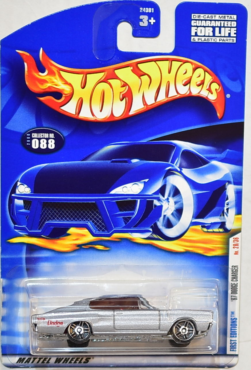 HOT WHEELS 2000 FIRST EDITIONS '67 DODGE CHARGER