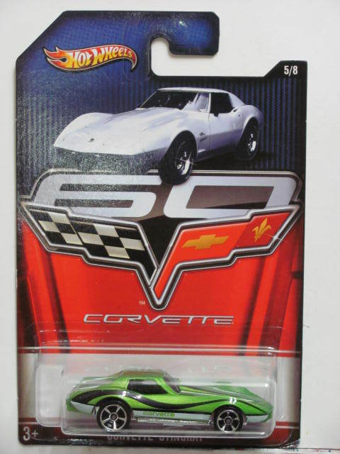 HOT WHEELS 2013 60th ANIVERSARY CORVETTE - CORVETTE STINGRAY