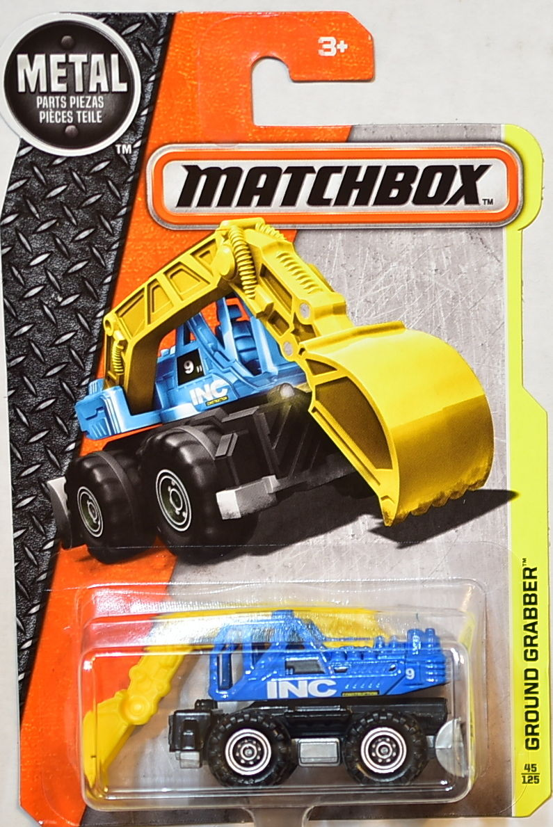 MATCHBOX 2016 METAL PARTS PIEZAS GROUND GRABBER